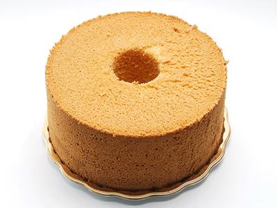 メイプルシフォンケーキ